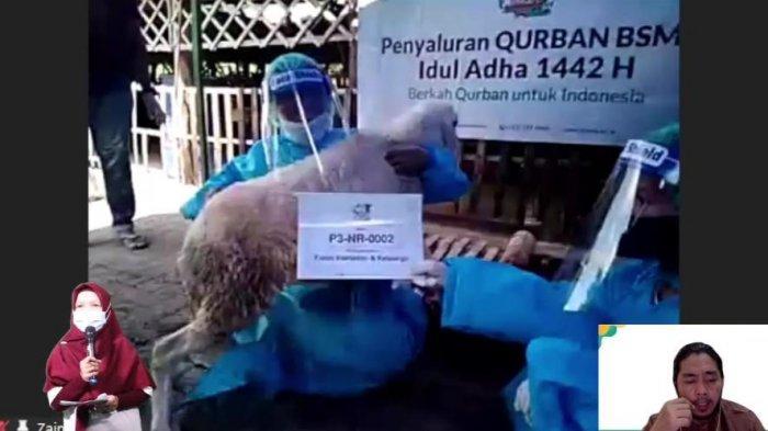 Alirkan Kebaikan Idul Adha 1442 H, Laznas BSMU Salurkan Lebih Dari 100.000 Kantong Daging Kurban