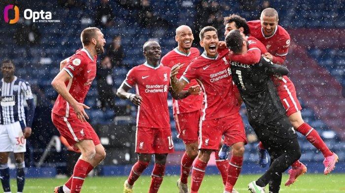 Kiper Alisson Becker Cetak Gol ke Gawang West Brom, Jaga Asa Liverpool, Heboh, Langsung Trending