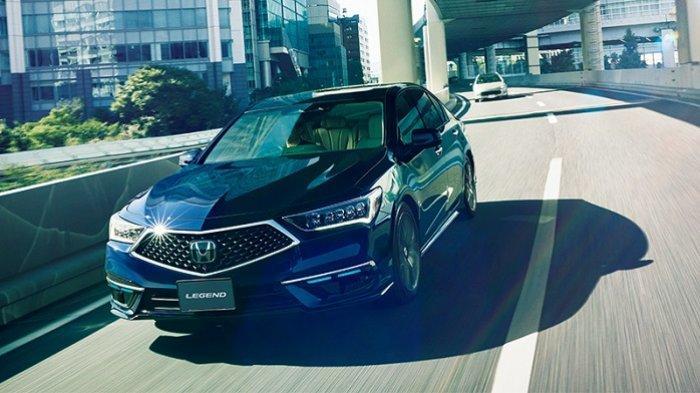 All New Legend Hybrid EX Hadir dengan Honda Sensing dan Teknologi Baru, Bisa Mengemudi Otomatis