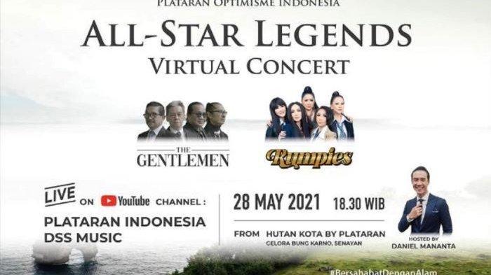 All Star Legends Virtual Concert Digelar Virtual Jumat Malam Ini, Hadirkan The Gentlemen dan Rumpies