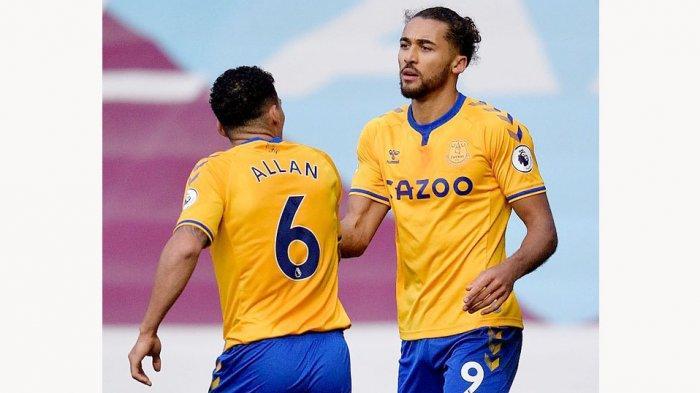 Allan dan Dominic Calvert-Lewin yang barus sembuh dari cedera akan dimainkan oleh Carlo Ancelotti di laga Derby Merseyside