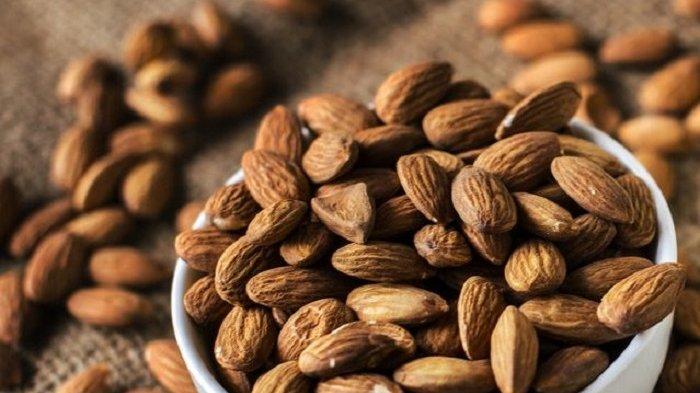 Makan Kacang Almond 20 Butir Setiap Hari, Ini Manfaat yang Bakal Terjadi  pada Tubuh Anda - Warta Kota