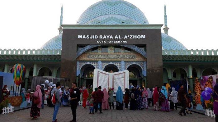Pandemi Covid-19, Masjid Raya Al Azhom Tangerang Tiadakan Pemotongan Hewan Kurban Tahun Ini