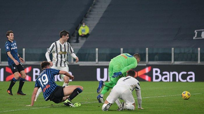 Andrea Pirlo Marah dengan Kecerobohan Striker Juventus Alvaro Morata