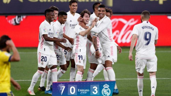 Hasil Lengkap dan Klasemen Liga Spanyol, Real Madrid Geser Atletico ke Puncak, Sevilla Gusur Barca