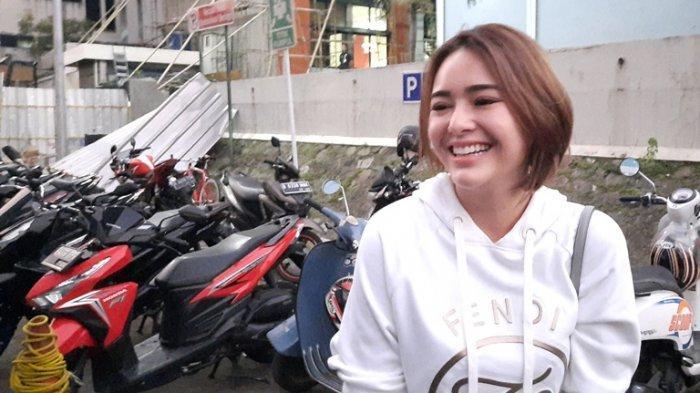 Amanda Manopo setelah syuting di TransTV, Mampang Prapatan, Jakarta Selatan, Rabu (29/7/2020).