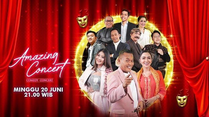 Deretan Komedian dan Musisi Ternama, Siap Hiasi Amazing Concert Comedy Concert