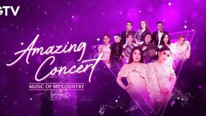 Ayu Ting Ting dan Via Vallen Tampil dalam Amazing Concert Music of My Country Malam Ini di GTV