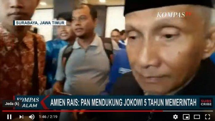 Kejutan, Amien Rais Pastikan Dukung Jokowi Hingga 2024, PAN Takkan Tergoda, Misal Bikin Huru-Hara