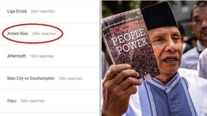 Profil Amien Rais, Sosok yang Singgung Neraka Jahanam ke Jokowi, Hingga Masuk Google Trend Indonesia