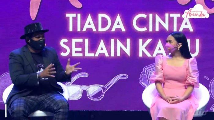 Setelah lagu Dua Centang Biru ciptaan Yovie Widianto, penyanyi Aminda merillis single baru berjudul Tiada Cinta Selain Kamu ciptaan Virgoun, Rabu (28/7/2021).