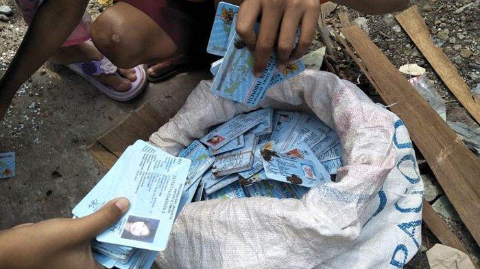KTP Elektronik yang Ditemukan Anak-anak di Pondok Kopi Ada Tiga Ribu Keping