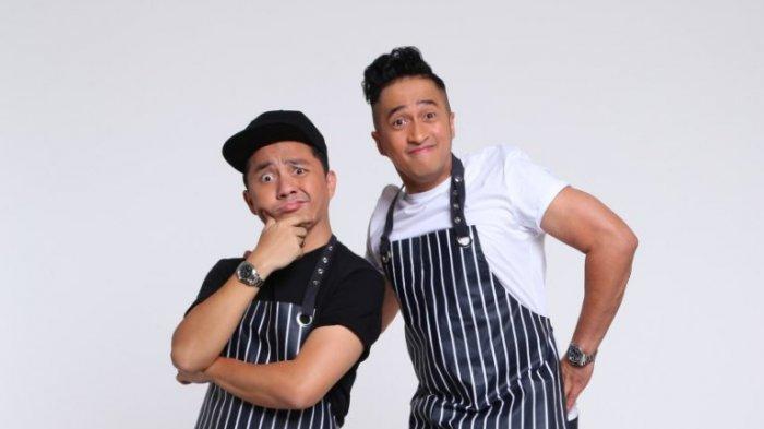 Duet Irfan Hakim dan Ananda Omesh Mengenalkan Produk Terbaru Usaha Kulinernya di Bandung