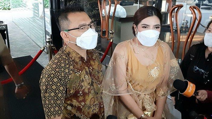 Pasangan selebritas Anang Hermansyah dan Ashanty, Sabtu (30/1/2021).