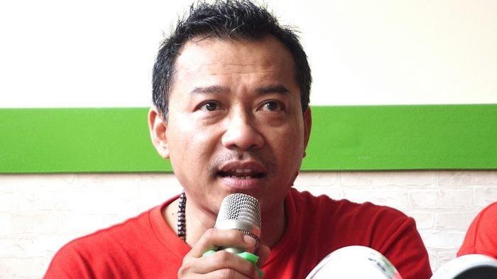 Anang Hermansyah yang ditemui bersama keluarga Asix saat pembukaan outlet Asix di Ruko Braja Mustika, Jalan Semeru Bogor, Jawa Barat, Sabtu (2/2/2019).