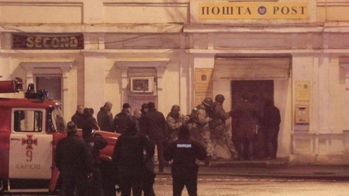 Akhirnya Polisi Ukraina Bebaskan Sandera yang Terancam Pembawa Bom
