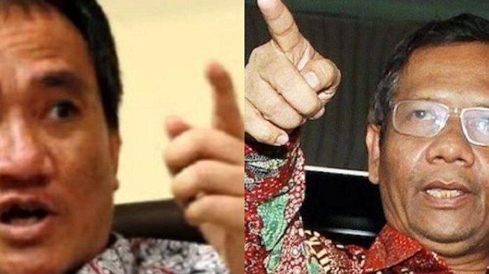 POLITISI Demokrat Andi Arief Sebut Mahfud MD Kelompok Sumbu Pendek, KKB Papua Dilabeli Teroris