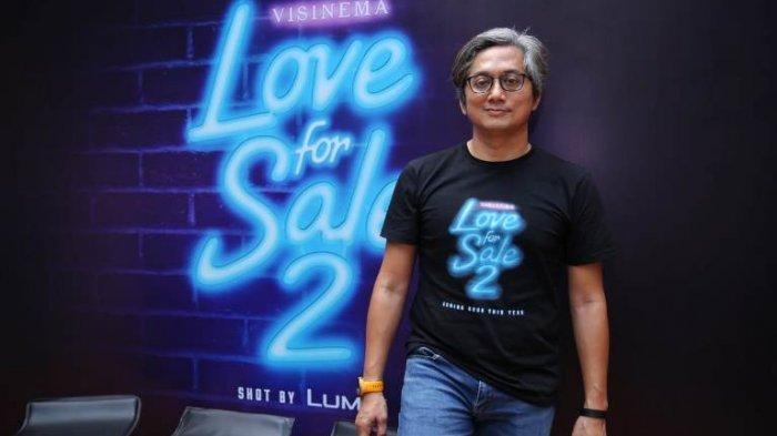 Sutradara Andibachtiar Yusuf ketika berbincang disela mengenalkan para pemain film Love For Sale 2 di Kantor Visinema Pictures, kawasan Cilandak, Jakarta Selatan, Rabu (4/9/2019).