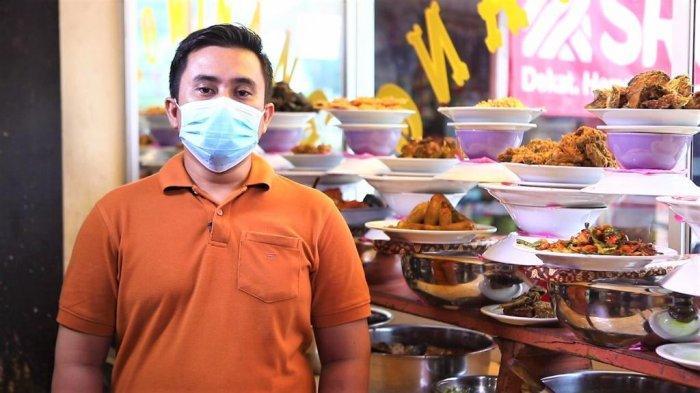 Kredit Bank DKI Bikin Pemilik RM Padang Trio Minang ini Bertahan dari Pandemi Covid-19