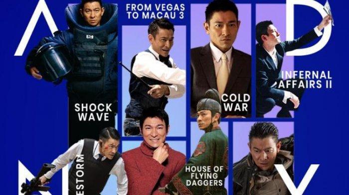 Klik Film memutarkan banyak judul film Andy Lau di even The World of Andy Lau yang berlangsung mulai Minggu (27/9/2020) sampai 30 September 2020. Even perayaan ulang-tahun Andy Lau itu berlangsung di seluruh Asia.
