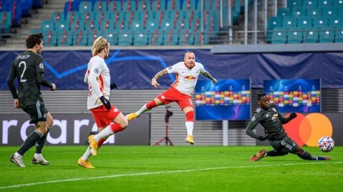 Sedang Berlangsung RB Leipzig vs Manchester United 2-0, Baru 13 Menit Setan Merah Kebobolan 2 Gol