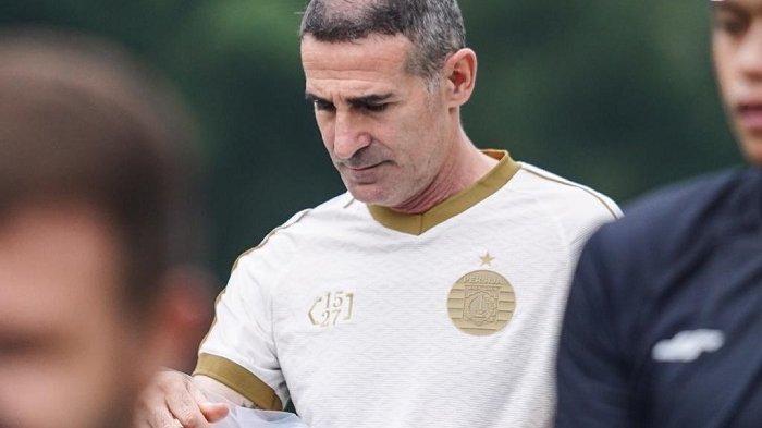 Mulai Pimpin Latihan, Angelo Alessio Minta Pemain Persija Punya Komitmen di Setiap Latihan dan Laga