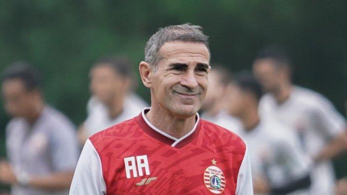 Angelo Alessio Pelatih Persija Jakarta Siapkan Strategi Ideal Untuk Hadapi PSIS Semarang