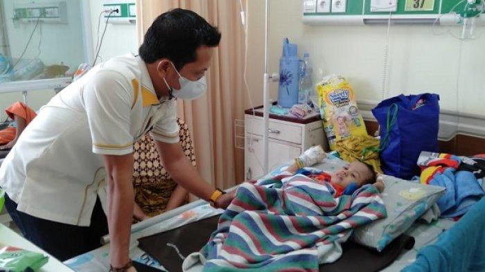 Anggota DPRD Bogor Minta Bocah Penderita Gizi Buruk di Sukajaya Bogor Dirawat Sampai Sembuh