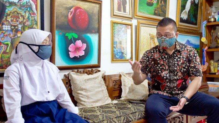 Arista Hampir Putus Sekolah karena PPDB Jakarta, Anggota DPRD DKI Kenneth Minta Terus Rajin Belajar