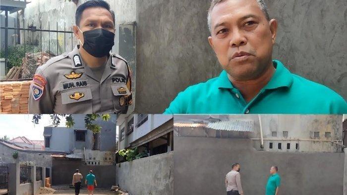 Diduga Terganggu Anak-anak Mengaji, Anggota DPRD Ini Bangun Tembok Tutup Akses Jalan Rumah Tahfiz