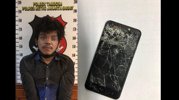 Pelaku Penjambretan Ponsel di Tambora Ditangkap Polisi, Kejar-kejaran Hingga Tabrak Motor Pelaku