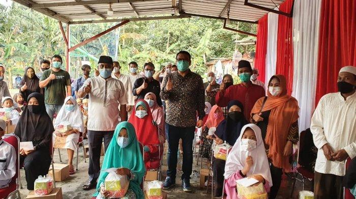 Masa Reses, Anggota DPR RI Eriko Sotarduga Beri Santunan di Tebet