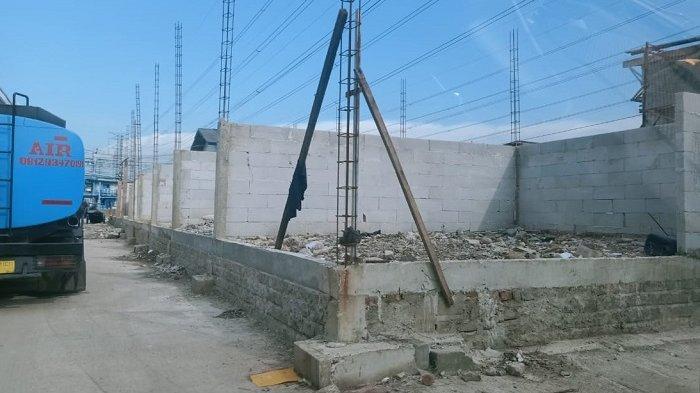 Proyek Bangunan di Lahan Milik Pemprov DKI di Pelabuhan Perikanan Muara Angke Dipertanyakan Warga