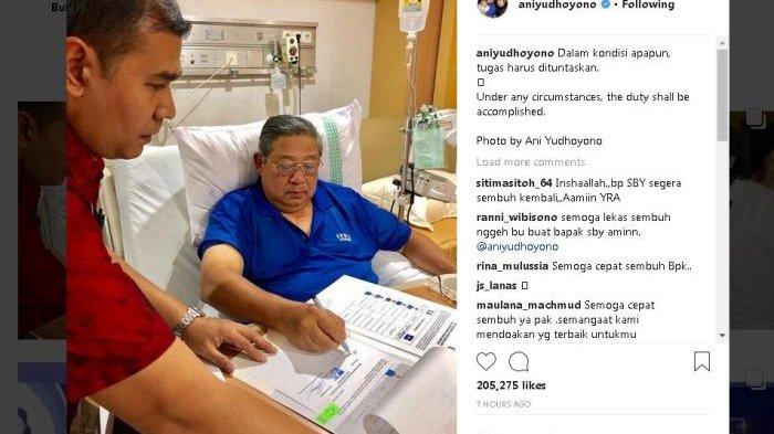 Prabowo Besuk SBY yang Dirawat di RSPAD dan Dijadwalkan Tidak Bicara Politik