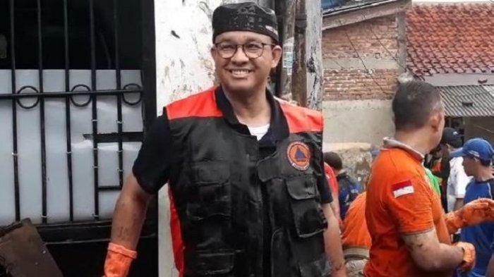 Dinilai Tak Becus Kerja, Anies Baswedan Sebut Banjir 2020 di Jakarta Tak Separah Era Jokowi dan Ahok