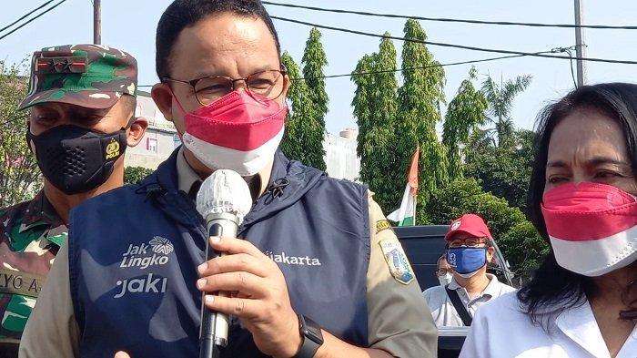 Anies Baswedan: Alhamdulillah, Kasus Aktif Covid-19 di Jakarta Turun di Bawah 10 Ribu