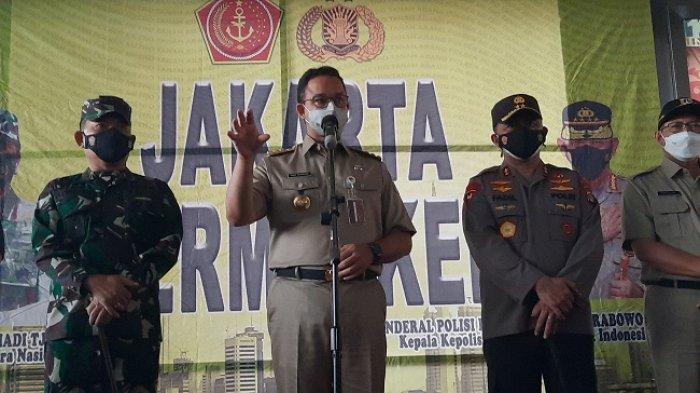 Datangi Tanah Abang, Gubernur Anies Instruksikan Rekayasa Transportasi untuk Cegah Kerumunan