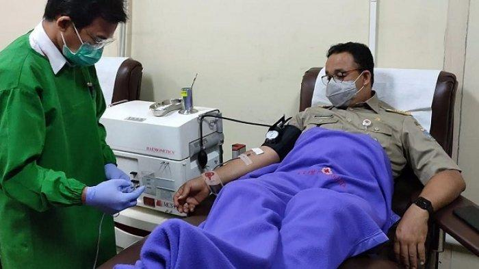 Donor Darah  PMI DKI Jakarta, Anies Baswedan Akui Sudah Donor Darah Sejak SMP