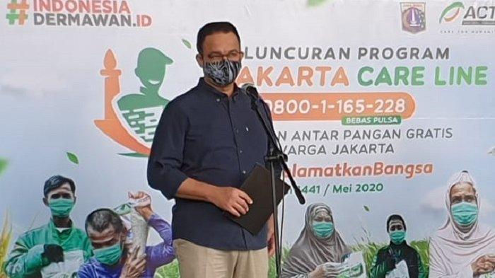Anies Sebut Penyebaran Covid-19 di Jakarta Semakin Rendah Setelah DKI Keluarkan Kebijakan Ini
