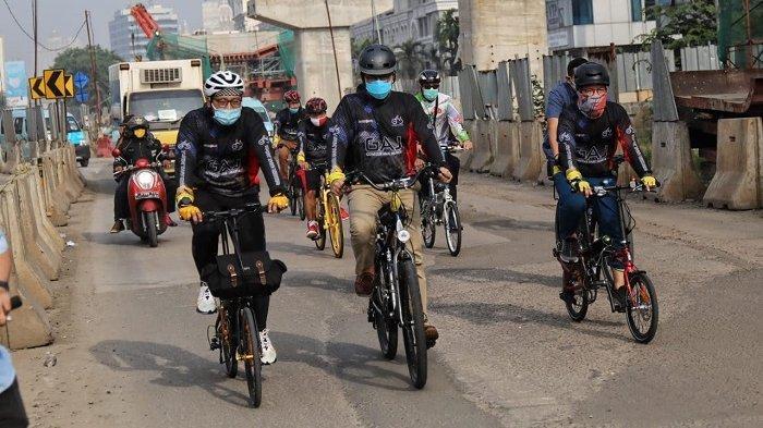Gowes Bareng Anies Baswedan, Komunitas Dukung Kampanye Sepeda Jadi Alat Transportasi