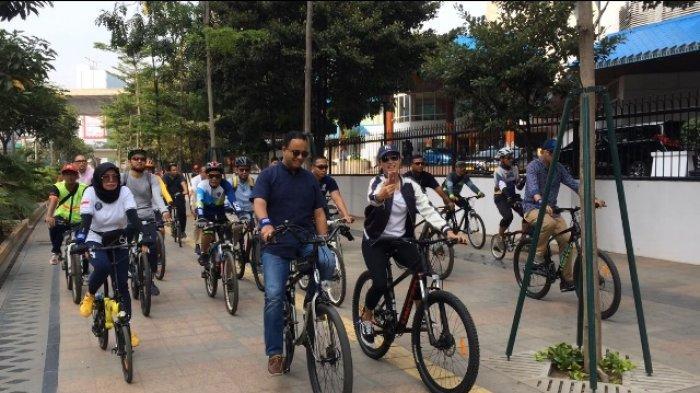 Anies Baswedan Berharap Masukan Publik dengan Melaksanakan Uji Coba Jalur Sepeda Sepanjang 63 Km