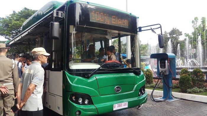 2.000 Bus Listrik Ditargetkan Beroperasi Di Jabodetabek Tahun Depan