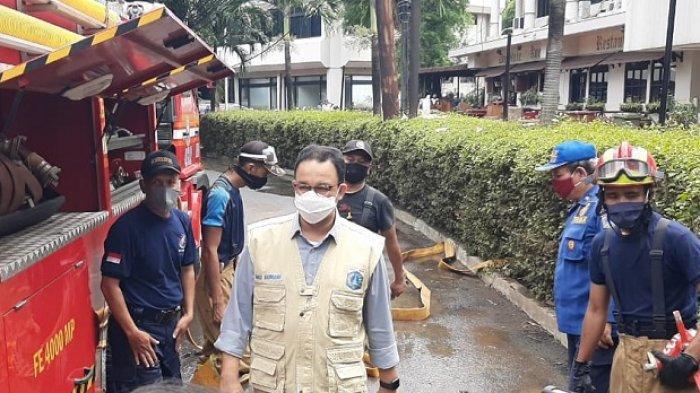 VIDEO Kawasan Kemang Banjir Parah, Gubernur DKI Anies Baswedan: Satu Hari Sudah Surut dan Kering