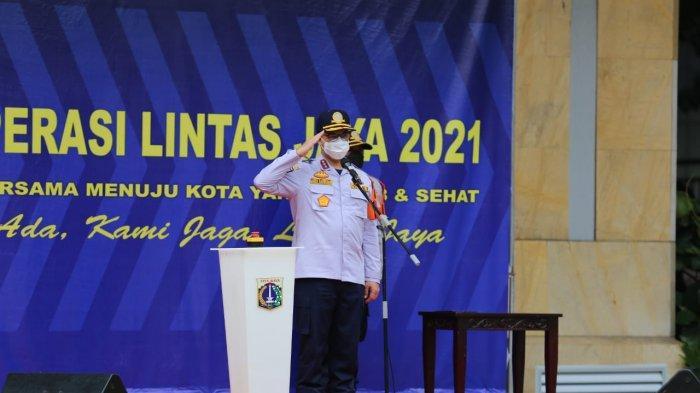 Gelar Operasi Lintas Jaya 2021, Anies Ingin Munculkan Budaya Tertib Berlalu Lintas