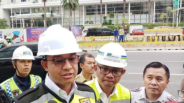 Anies Baswedan Ungkap, MRT Belum Dapat Ubah Kebiasaan Masyarakat Gunakan Transportasi Umum