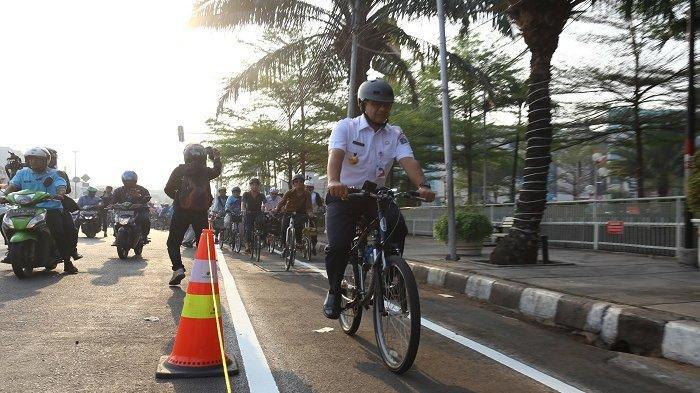 Dua Jalur Sepeda di Jakarta Ini Rawan Pelanggaran dari Pengendara Lain