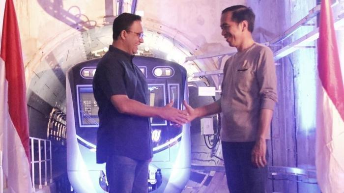 MRT Jakarta Diresmikan, Jokowi Sebut Sebuah Budaya Baru