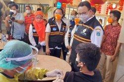 Anies Optimistis Target Vaksin Jakarta Lebih Cepat dari yang Ditetapkan Presiden Jokowi