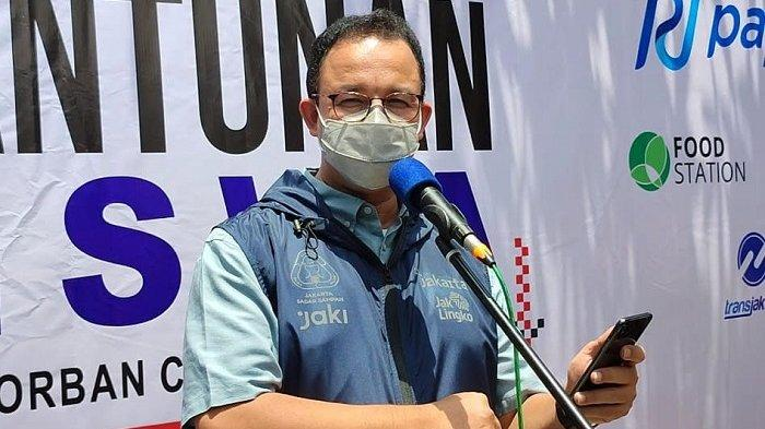 KasusAktif Covid-19 di Jakarta Kurang dari 2.000, Anies Ingatkan Tetap Patuhi Protokol Kesehatan
