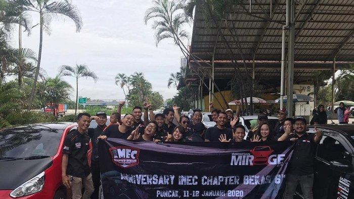 Hari Ini Anniversary ke-6 IMEC Chapter Bekasi, Klub Mitsubishi Mirage Touring ke Desa Cilotoh